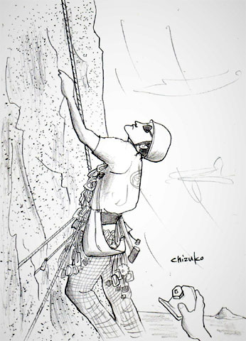 作品名 「Homer sometimes ... - Climbing in Kalymnos -」(前編)<br>制作 Original CV<br>作品時間 59分